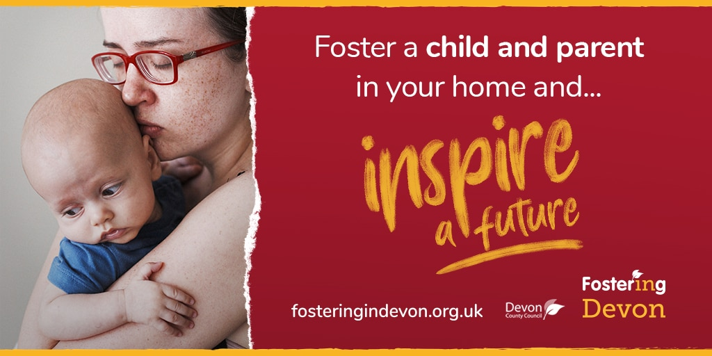 child and parent fostering image