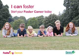 Cover of fostering information booklet