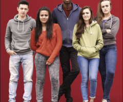 5 teens in foster care